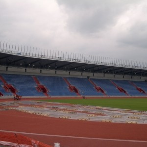City Stadium Ostrava – Vítkovice, Czech Republic
