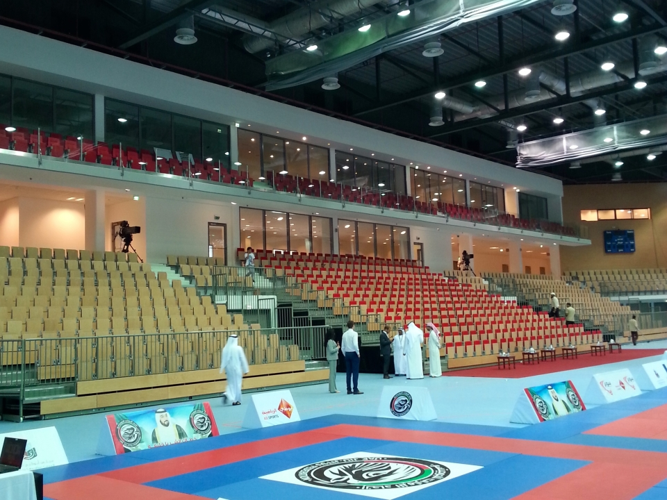 First Gulf Bank Arena, Abu Dhabi, UAE