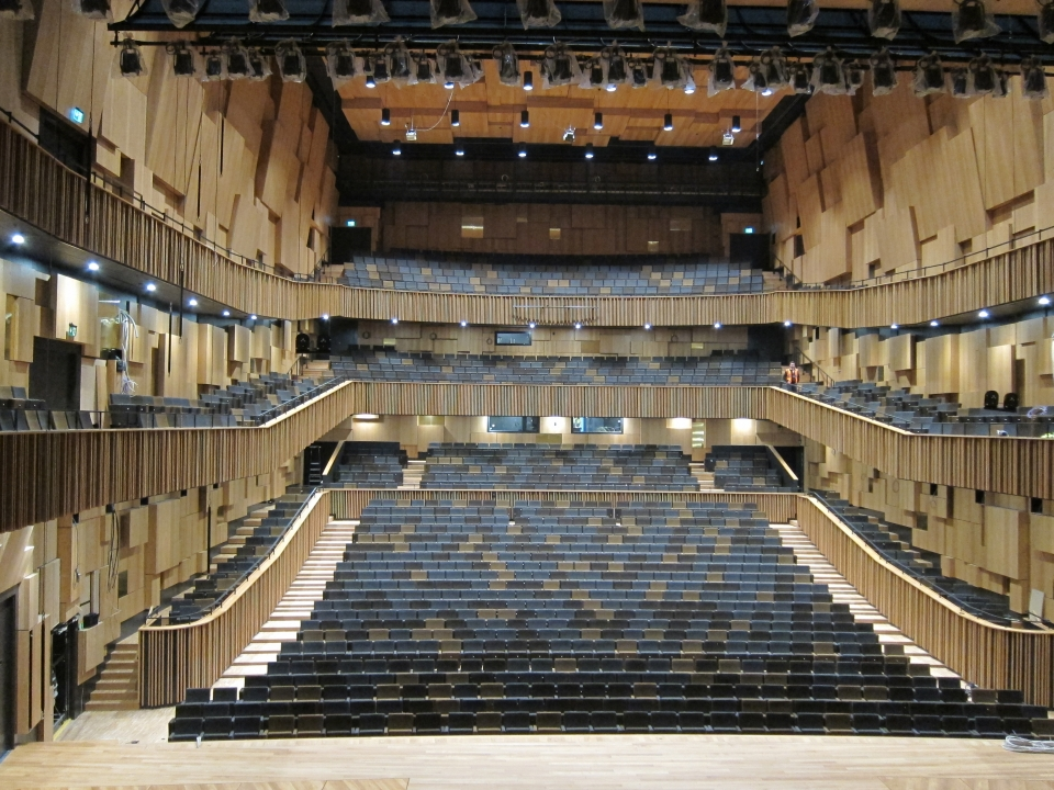 The Malmö concert hall, Sweden