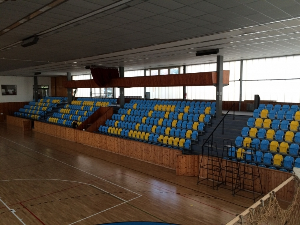 The municipal Sports hall, Louny